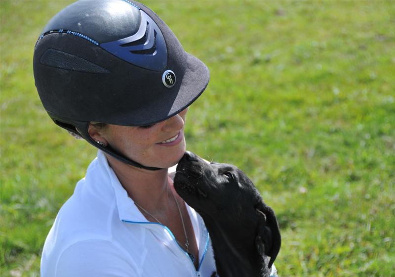 Jessica-and-dog