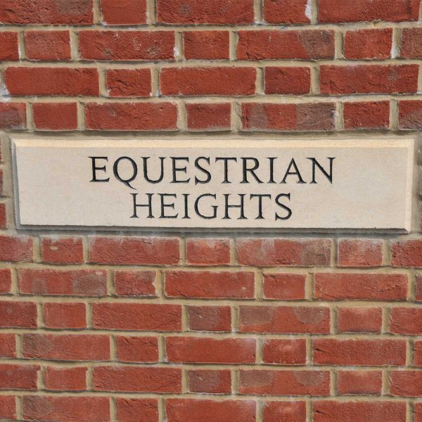 Equestrian Heights sign